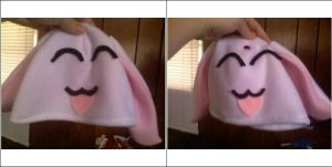 Mokona Modoki Commission Hats by GlitterFox