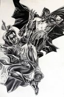 Lee Bermejo Batman and Robin by donchild