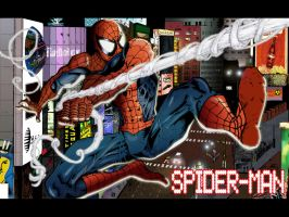 Spider-Man in Color by alfred183