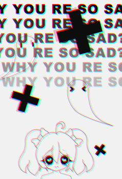 Why you're so sad? by EliKitsune