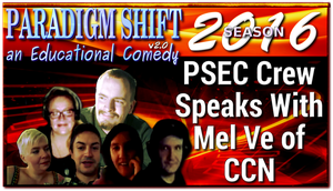 PSEC 2016 PSEC Crew Speaks With Mel Ve of CCN by paradigm-shifting