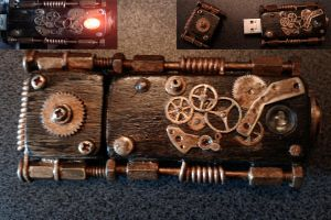 usb steampunk style by mag6210