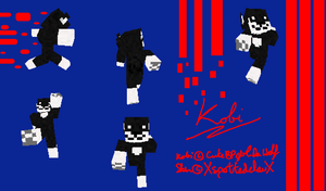 Kobi Furry Minecraft Skin by XspottedclawX