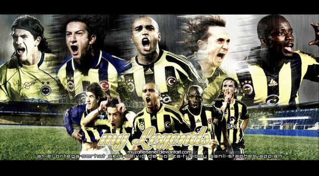 My Legends-Fenerbahce by MuzafferSenel