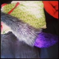 Finished Commission Wolf Tail by LilWolfStudios