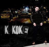 K Koke Fan Art by JdnGfx