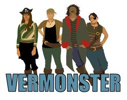 Vermonster Poster by YamiRedPen