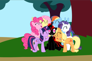 OC Request: Mane6 and MotorHead GroupHug by IronwoodAKACleanser