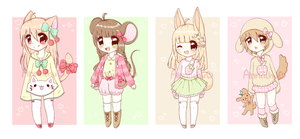 Fruit Pet Adoptables (closed) by Anniichu