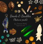 Beads and Baubles - Nature pack by Majnouna