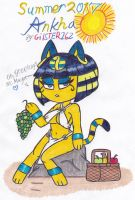 Summer 2017: Ankha by gilster262