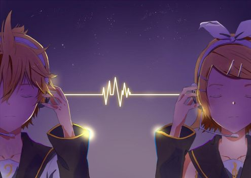 Kagamine by Risa1