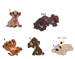 lion cub point adoptables CLOSED by neema-lion