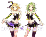 LUVORATORRRRRY RENDER (Gumi and Rin REUPLOAD) by Kagamine-Rin-Len-V3