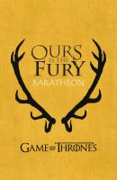 Game Of Thrones - Baratheon by miserym