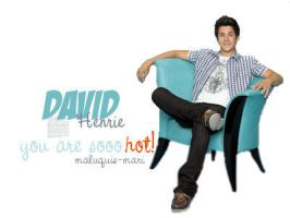 David Henrie by micamoneo