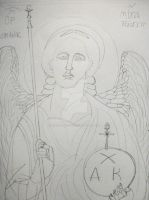 Archangel St. Michael by NewYorkArtistFrancis