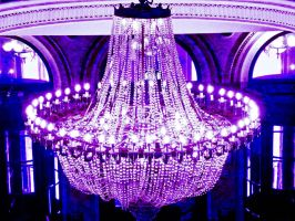 UV chandelier by Paganpoetry17