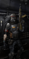 ReichSoldier by KidneyShake