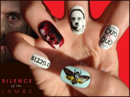 The silence of the lambs Nails by Ninails