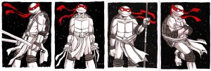 TMNT Banner/4 Brothers by TessFowler