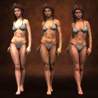 Comparision of Vicky6, Gia and Olympia by Sedorrr