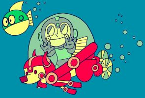 the wild robotic sea by heartpuncher