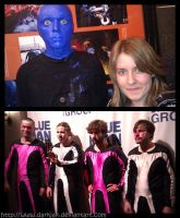 The Blue Man Group by ZombiDJ