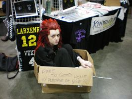 Axel in A Box::AX by CapcomQueen