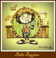 Bilbo Baggins by aryundomiel