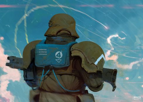 Republican soldier by ProxyGreen