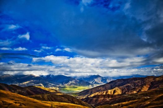 Tibet Mountains  :: ~4800meters above sea level by demi2004