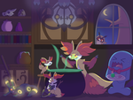 Delphox's Cauldron by Sandstormer