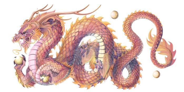 Bhutanese Dragon by Fresco24