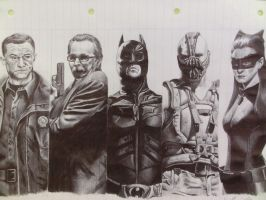 The Dark Knight Rises by frankiem05