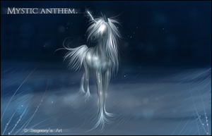 Mystic Anthem - Speedpaint. by Eredhys