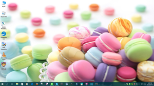 Macaroon Desktop by PharaohAtisLioness