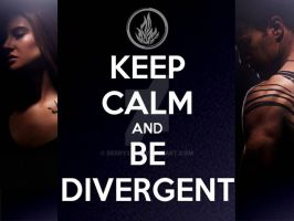 Keep Calm and Be Divergent by berry331
