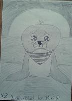 Little Seal (For Maxi) by SaphirexBlue