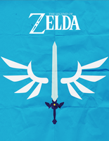 Skyward Sword Minimalist by TheHarlequinHatter