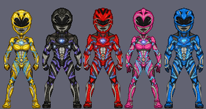 Power Rangers Movie 2017 by haydnc95