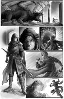 Dragon Slaughter Page1 by arvalis
