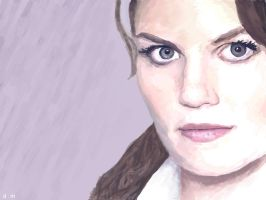 HOUSE M.D.--Allison Cameron by paranoidcity