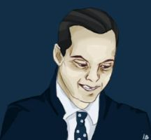 Jim Moriarty by imberantiel