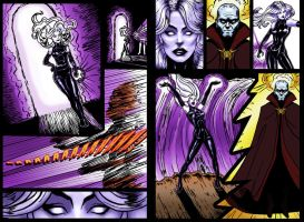 Death Queen 2 page Layout by Zarnoth