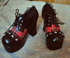 Demonia shoes by fantazyme