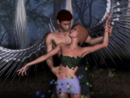 Bayne Steel and Bishi Angel V2 by matara