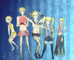APH The Nordics - Vocaloid by Takeo-Yamiyu