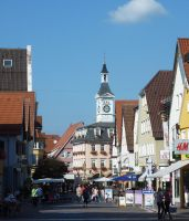 Town center of Aalen Germany by go4music