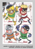 MGH2012 sketchcards 14 by thecheckeredman